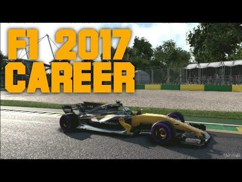 F1 2017 Career S1 #1   HET SEIZOEN BEGINT!   Nederlands/Dutch