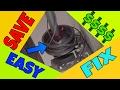 🆕 Garage Door Cable Off   EASY FIX!!