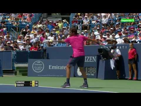 Roger Federer v. Novak Djokovic | Cincinnati 2015 Final Highlights HD