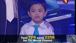 Video Talentadong Pinoy - Tri World pianist  -Amazing Kid download MP3, 3GP, MP4, WEBM, AVI, FLV November 2017
