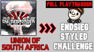 TNO's Endsieg - Union of South Africa - HoI4 mod The New Order: Last Days of Europe - Hard Mode