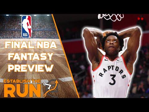 NBA FANTASY FINAL PREVIEW | Establish The Run NBA Podcast