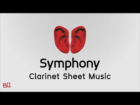 Symphony - Clean Bandit ft. Zara Larsson (Clarinet Sheet Music)