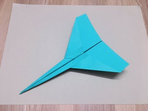 How To Make Paper Airplanes That Fly Far - Easy Paper Plane