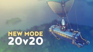 NEW MODE: 20v20 - TEAMS OF TWENTY! (Fortnite Battle Royale)