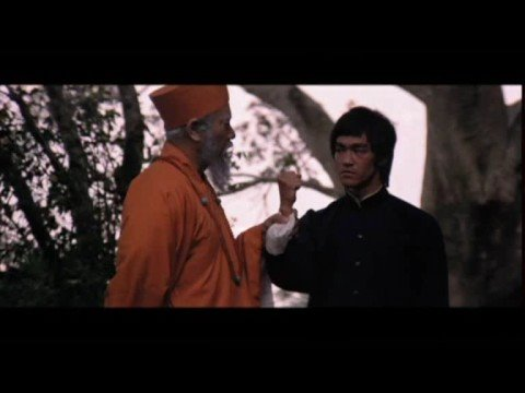 Enter The Dragon Bruce's Real Voice