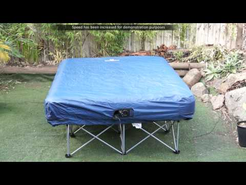 The Krooga Inflatable Air Mattress Bed