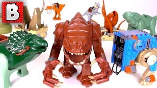 Every LEGO Star Wars Monster Ever Made!!! Creatures and Jabba Too