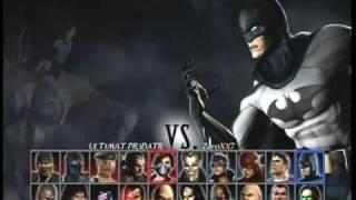 Mortal Kombat vs DC Universe online match 1
