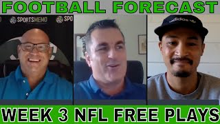 NFL Picks and Predictions | NFL Week 3 Betting Preview | Sportsmemo Football Forecast