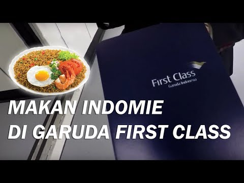 TRAVEL - VLOG. BOLAK BALIK NAIK FIRST CLASS GARUDA