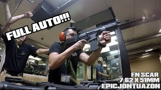 shooting full auto fn scar and cz scorpion