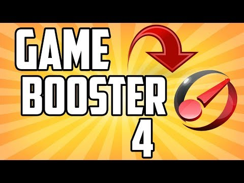 GAME BOOSTER 4 FOR FREE (INCREASE PC/FPS SPEED)