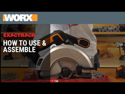 WORX 20V ExacTrack | How to Use & Assemble
