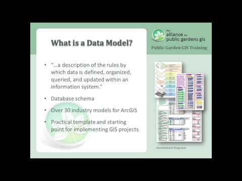 Lesson 1 - Introduction to the Alliance and the ArcGIS Public Garden Data Model