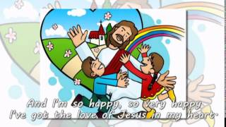I've Got the Joy Joy Joy Joy (Down in My Heart) - HERITAGE KIDS (Lyrics)