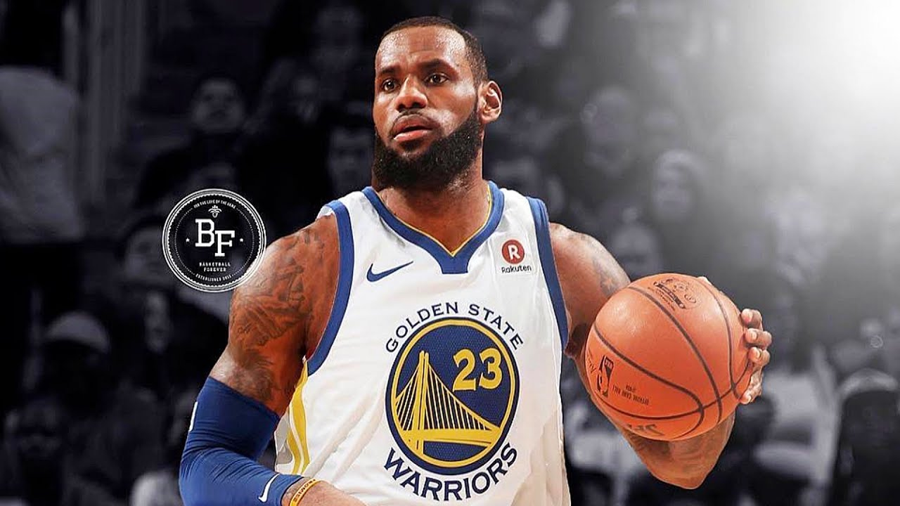 official photos f8e25 dad4e LeBron James Joining Warriors, Leaving Cavaliers? LeBron James Signing with  Golden State Warriors?
