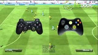Fifa 13 - Перебрасывание мяча над головой (Обучение)