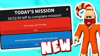 NEW MISSIONS ADDED (Roblox Jailbreak)