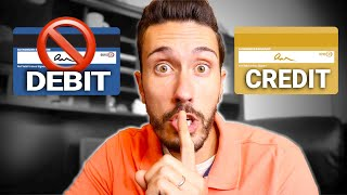 Debit Card vs Credit Card  What Banks Don't Want YOU to Know