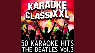 Lonesome Tears in My Eyes (Karaoke Version) (Originally Performed By The Beatles)