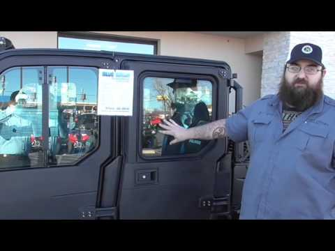 Polaris Crew Full Cab and Heater System