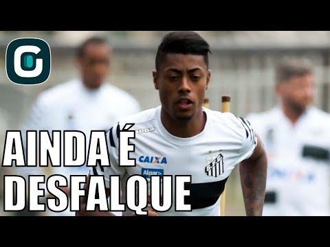 Bruno Henrique Sofre Lesão Na Bacia- Gazeta Esportiva (29/05/18)