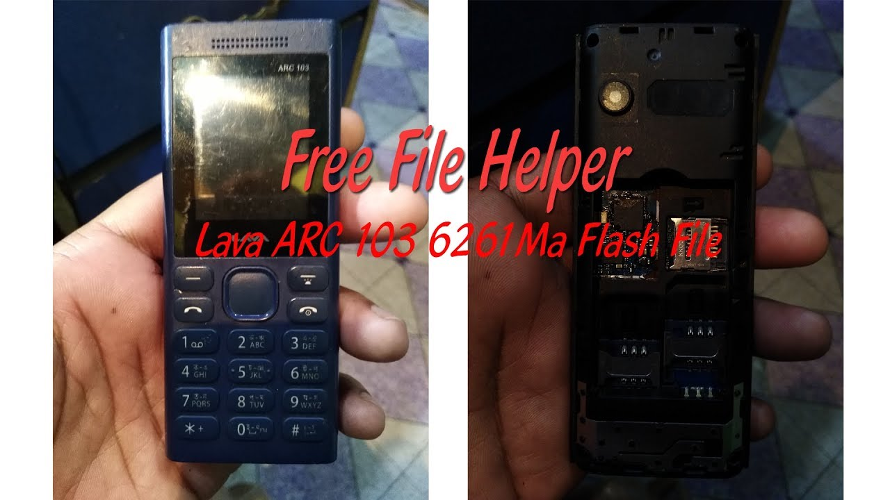 Lava ARC 103 6261Ma Flash File। No Password। #Free File Helper