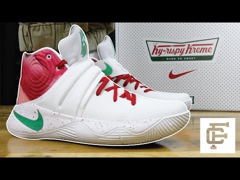 best sneakers 259d0 5965d NIKE KYRIE 2 KYRISPY KREME UNBOXING   REVIEW - YouTube