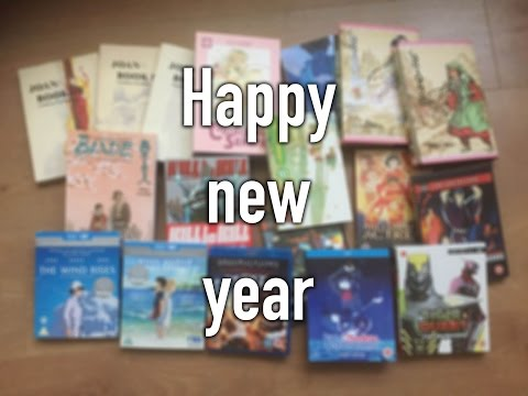 New Year's Day Manga/Anime Haul!