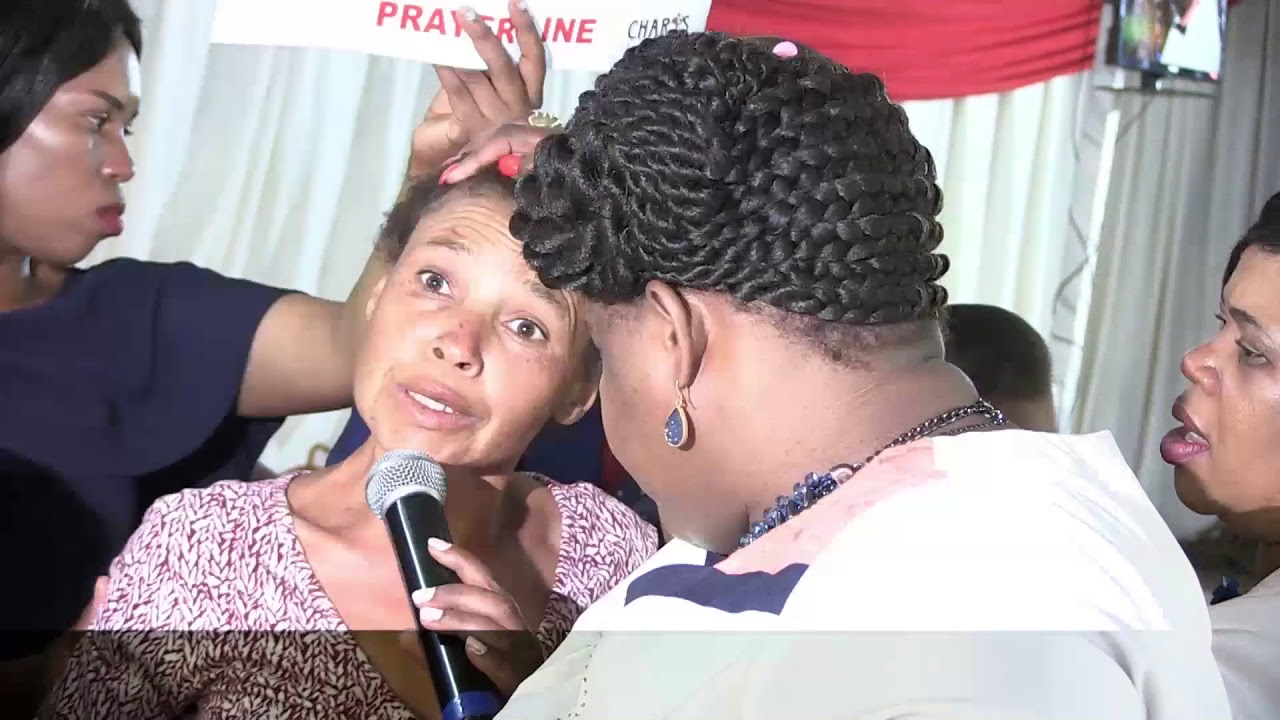 prayer line with prophetess T E MAKANANISA