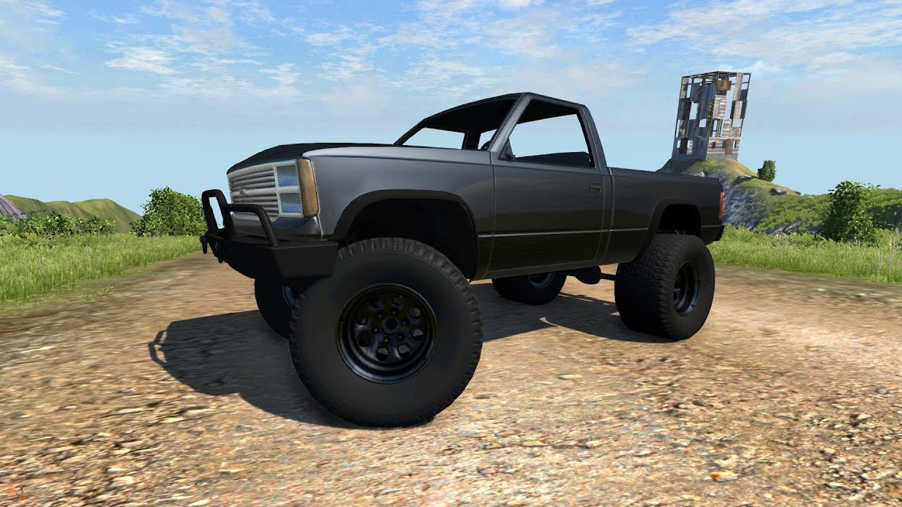 lifted truck wallpaper