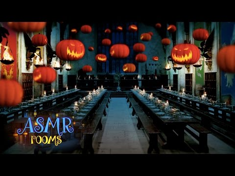 Harry Potter ASMR - Halloween at the Great Hall - HD ambient sound white noise - Cinemagraphs