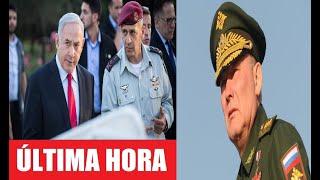 Israel Lanza un Comunicado de Urgencia contra Rusia y prepara a sus Tropas para un Ataque Directo.