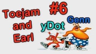 Игры Sega - Toejam and Earl (yDot и Genn) часть 6 - Жареные гвозди