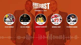 First Things First audio podcast (2.12.19)Cris Carter, Nick Wright, Jenna Wolfe | FIRST THINGS FIRST