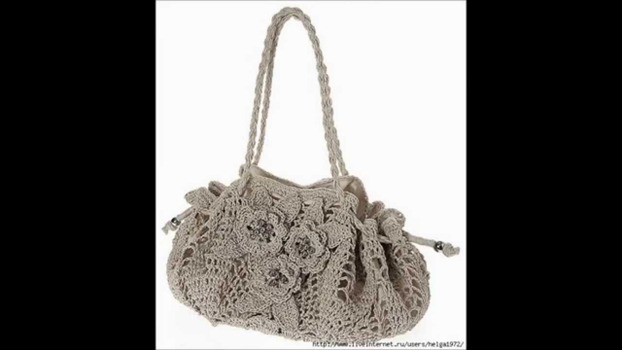 Crochet bag purse beginner free pattern purses diy - YouTube