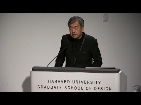 "Kengo Kuma, ""From Concrete to Wood: Why Wood Matters"""