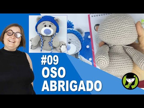 OSO NAVIDEÑO AMIGURUMI 09 oso tejido a crochet