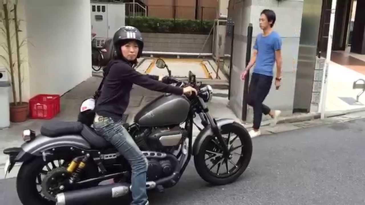 画像: 先川知香 YAMAHA BOLT試乗 www.youtube.com