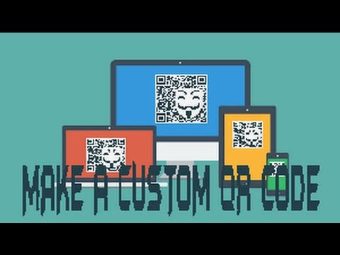 How to make a custom QR code of any file/ image/ MP3 ....From mobile ( any platform)...