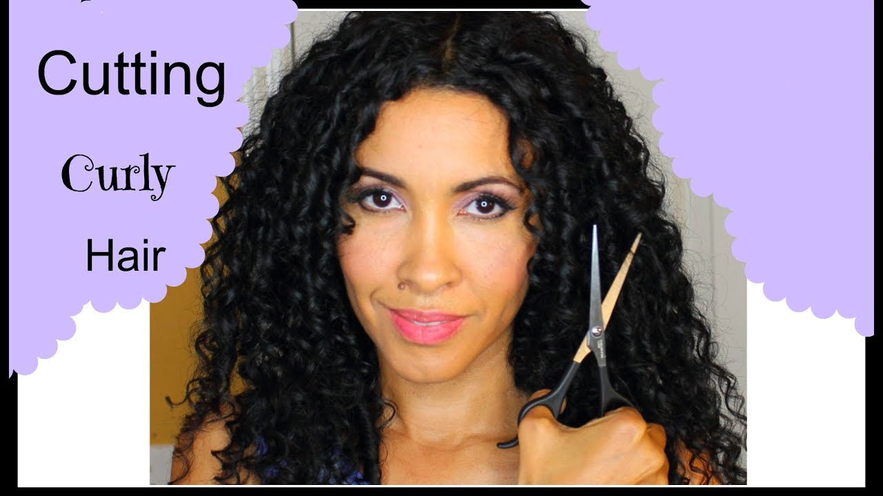 how to cut curly hair / cutting curly hair the devacurls way by