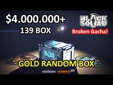 Black Squad - Opening $4.000.000+ = 139 Box (Gold Random Box)