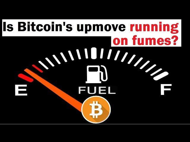 Bitcoin's Upward Momentum is Missing Something