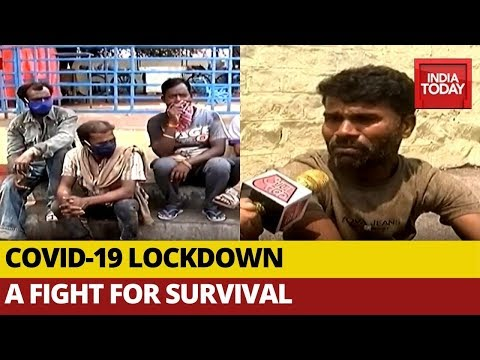 Coronavirus Lockdown: Daily Wage Labourers Struggle For Survival