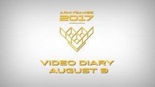 Video diary of the International Army Games – 2017, August 9