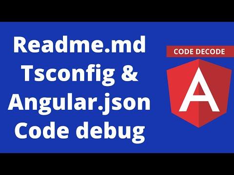 Readme.md TsConfig.json and Angular.json    Angular 8 thumbnail