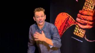 christopher titus the attack dog incident voice in my head
