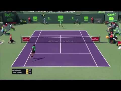 Roger Federer Highlights Miami Open 2017   BEST SHOTS