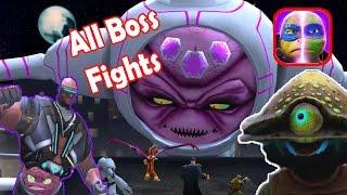 Teenage Mutant Ninja Turtles: Legends- Chapter 1-7 (All Boss Fights)
